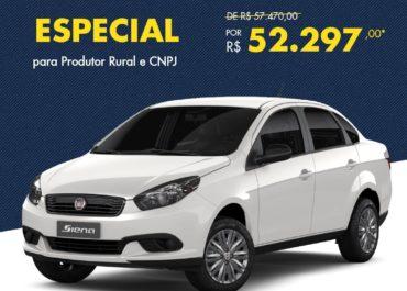 Grand Siena Attractive por R$ 52.297,00*