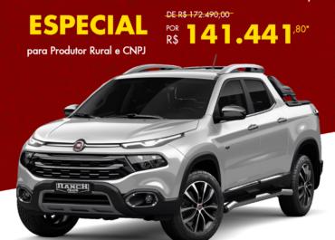 Toro Ranch Diesel por R$ 141.441,80*