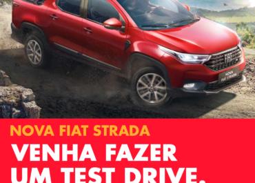 Venha fazer um test drive na Nova Fiat Strada