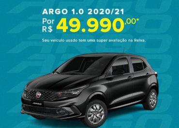 Argo 1.0 2020/21 por R$ 49.990,00*