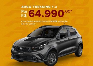 Argo Trekking 1.3 por R$ 64.990,00*