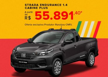 Strada Endurance 1.4 Cabine Plus a partir de R$ 55.891,00*
