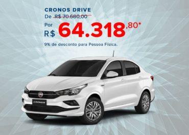 Cronos Drive por R$ 64.318,80*