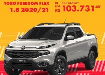 Oferta especial: Toro Freedom Flex 2020/21 por R$ 103.731,60*