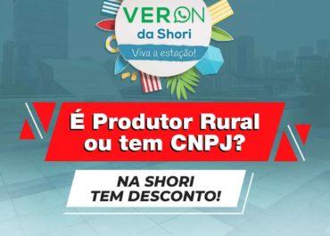 É Produtor Rural ou tem CNPJ? Na Shori tem desconto!