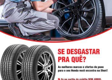 As melhores marcas e ofertas de pneus para o seu Honda estão aqui!