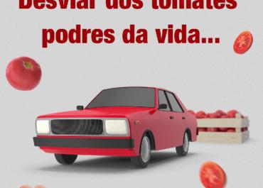 Desviar dos tomates podres da vida? Com a Shori você pode!