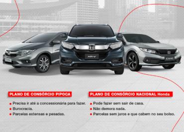 Consórcio Nacional Honda: o seu consórcio digital sem juros!