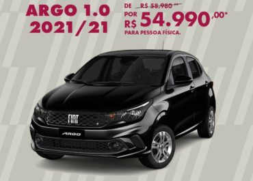 Argo 1.0 2021/21 por R$ 54.990,00