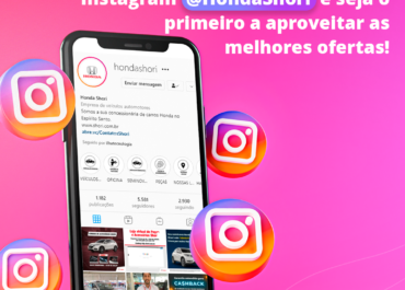 Siga a @HondaShori no Instagram!