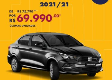 Cronos Drive 1.3 2021/21 por R$ 69.990,00*