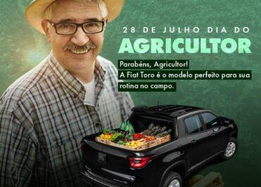 28/07: Dia do Agricultor