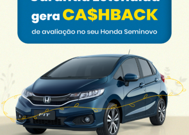 Garantia Estendida gera R$ 1.500 de CA$HBACK