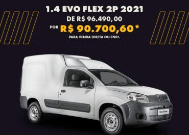 Fiorino Endurance 1.4 EVO Flex 2P 2021 por R$ 90.700,60*