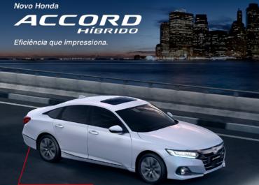 Novo Honda Accord Híbrido: a pronta-entrega na Shori Vitória