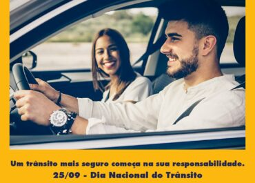 25/09: Dia Nacional do Trânsito