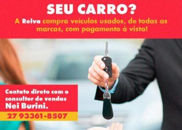 A Relva compra veículos usados com pagamento à vista!