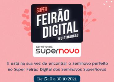 Encontre o seminovo perfeito no Super Feirão Digital de Seminovos SuperNovo